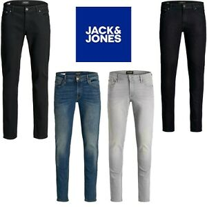 Jack-and-Jones-Jeans-Coupe-Slim-Skinny-Stretch-Smart-Casual-Denim-Pantalon