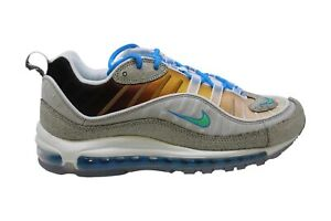 Nike Men's Shoes Air Max 98 OA GS Low Top Lace Up Running, Blue, Size 9.0