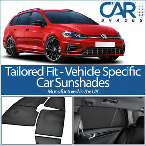 Details about VW GOLF MK7 ESTATE 13> WINDOW SUN SHADE BABY SEAT CHILD  BOOSTER BLIND UV SAFE