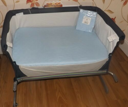 2 x Baby Crib Fitted Sheets to fit Chicco Next2Me Crib 100/% Cotton Choose