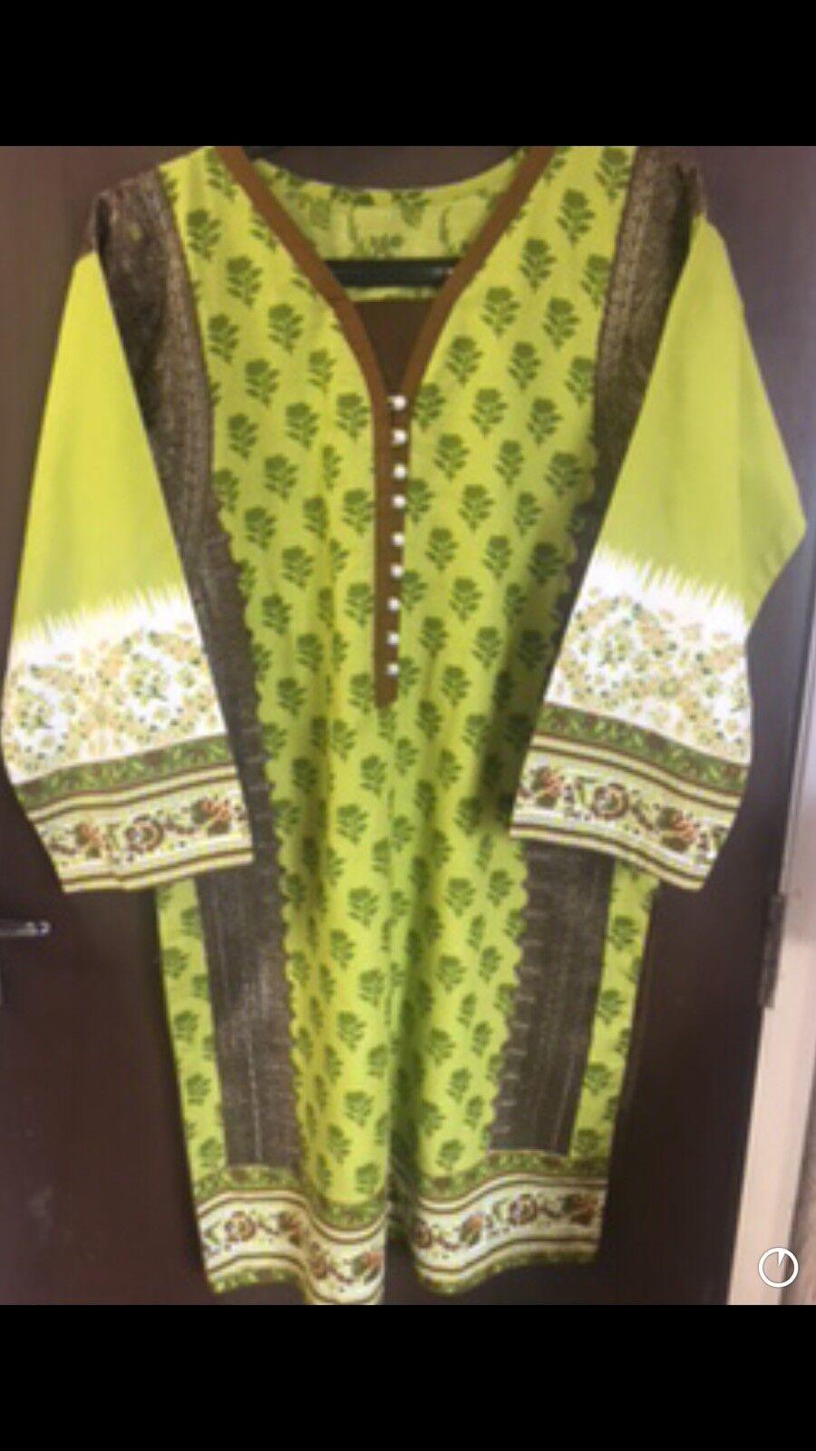 Sana safinaz  Womens 3 Piece Suit Khaadi Agha noor Pakistani Shalwar kameez