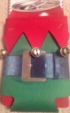 dci Holiday Santa Elf Suit W/ Bells drinKooliez Drink Sleeve Stocking Stuffer