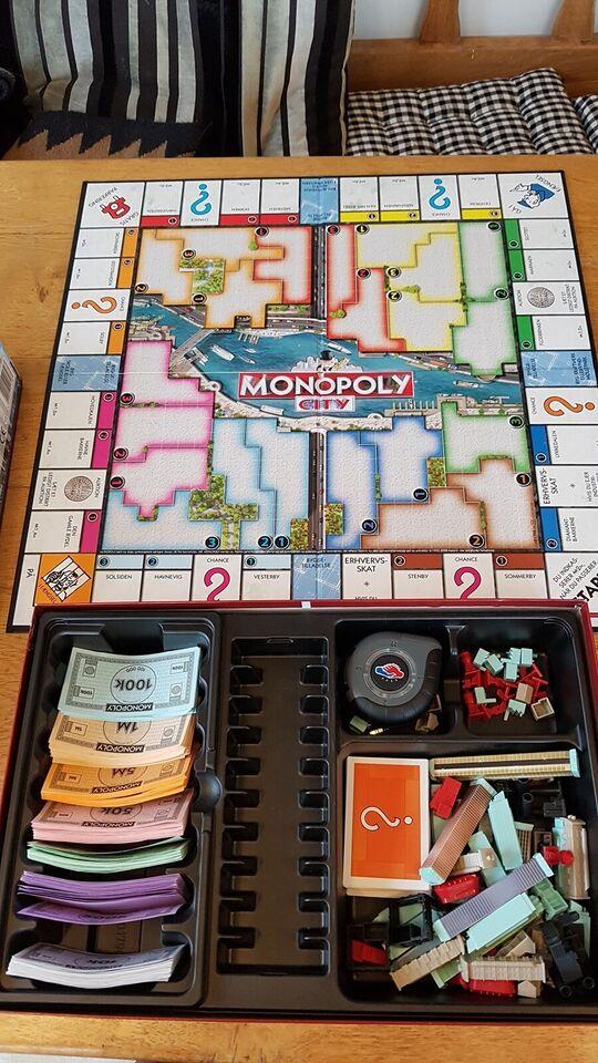 Monopoly city, Familiespil, brætspil