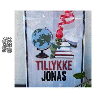 Stanzschablone-Wurm-Hochzeit-Weihnachts-Oster-Geburtstag-Karte-Album-Deko-DIY