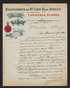 SAINT-LEU-la-FORET-95-USINE-CONFISERIE-CARAMELS-RUSSES-034-Paul-RENON-034-en-1925