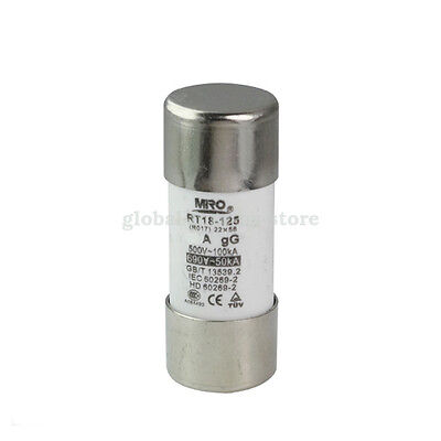 125A Fast Acting Fuse Miro RGS4A-125A 660V 125 Amp