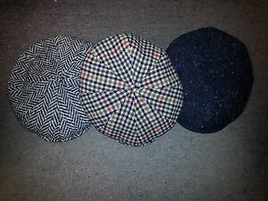 Image is loading KANGOL-Heritage-Tweed-Ripley-Cap-6-Colors-S-M-L- a0c329ae73e