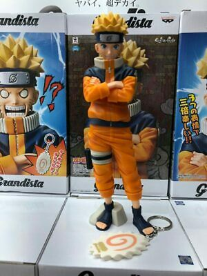 Naruto Shippuuden Grandista Shinobi Relations Uzumaki Naruto Action Figure Toy