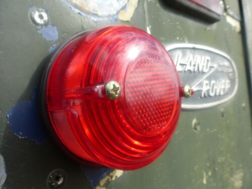 Land Rover Series 2a 3 Lucas Repro L581 Rear Brake Tail Stop Light Lens 589446