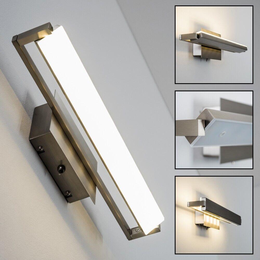 Design LED Schlafzimmer Wandleuchte Wand Lampen Flur Leuchte Wohnzimmer drehbar | Online Outlet Store