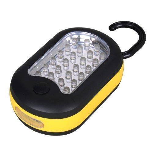 D44 4-pk DEL Camp Lantern /& Lampe De Poche Combo Hang /& Magnétique Asst Couleurs Rapide