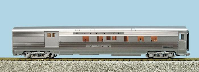 USA Trains Escala G R310003 Santa Fe  super jefe  combinar Pasajero Coche Nuevo