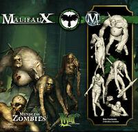 Mindless Zombies Maulifaux 2e Resurrectionists Wyr20213 Wyrd Miniatures