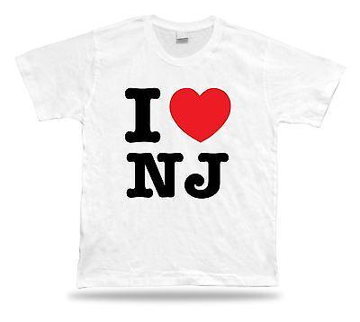I Love Nj New Jersey T Shirt Heart Garden Newark Devil Shore Fashion Design Sale Ebay
