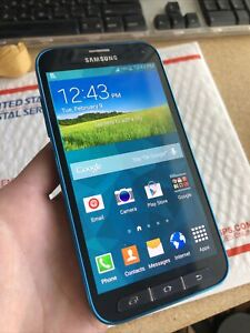 Samsung Galaxy S5 SPORT G860P Sprint Android Smartphone Nice Shape