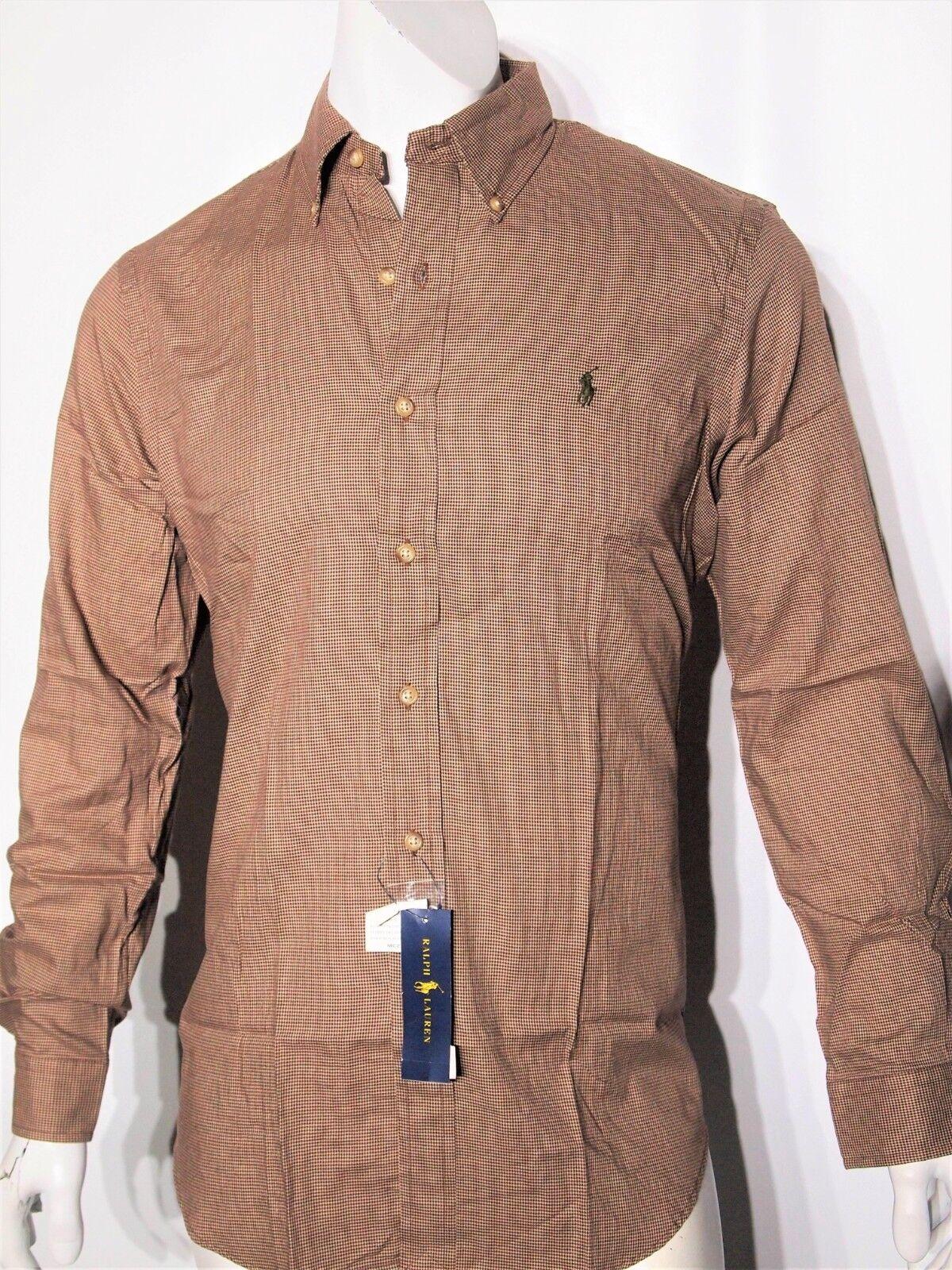 Ralph Lauren size small men's long sleeve plaid shirt