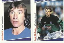 15 x WEST HAM UTD SHOOTING STARS Cards by MERLIN Publishing Ltd 1991/2 FOOTBALL