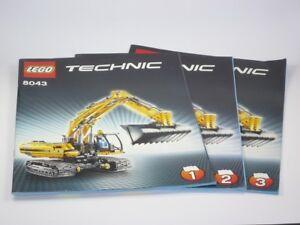 LEGO Technic 8043 - Motorisierter Raupenbagger RARITÄT mit B.anleitungen one OVP - Höchst, Österreich - LEGO Technic 8043 - Motorisierter Raupenbagger RARITÄT mit B.anleitungen one OVP - Höchst, Österreich