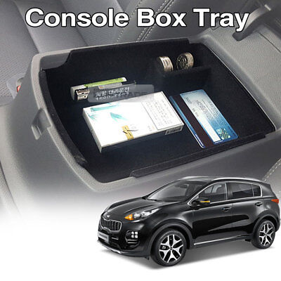 Armrest Center Console Box Tray Storage Holder Trim for KIA 2017-18 Cadenza K7