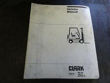 Clark C500 Y 60s100 Maintenance Amp Adjustment Procedures Manual Pma 539