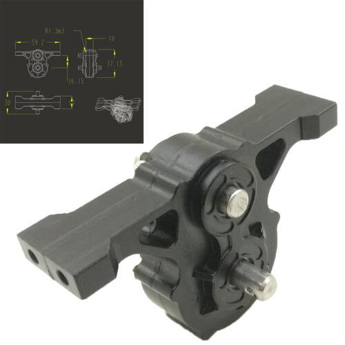 Schwarzes Verteilergetriebe für TAMIYA MAN 620 1851 3363 1//14 RC Sattelzug