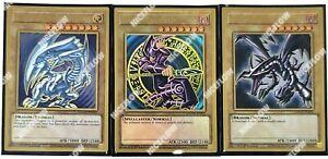 Blue-Eyes-White-Dragon-Dark-Magician-Red-Black-Maximum-Premium-Gold-MAGO-Yugioh