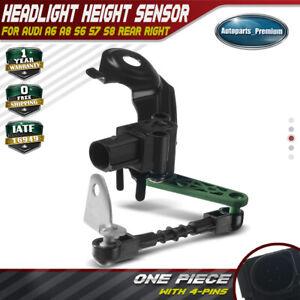 Headlight Level Sensor Rear Right for Audi A6 A8 S6 S7 S8 12-17 4H0941310C