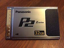 Panasonic AJ-P2E032XG 32GB E-Series P2 Memory Card w/case