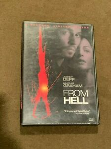 From-Hell-Movie-DVD-Director-039-s-Limited-Edition-Johnny-Depp-Heather-Graham