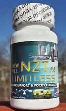 Limitless NZT.48 Nootropic Extreme Brain Booster, Focusd 3D & Confidence 30caps