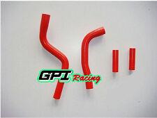 Yamaha YZ125 2003-2012 2004 2005 2006 2007 08 09 2010 silicone radiator hose,RED