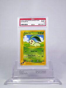 PSA-9-MINT-Chikorita-Pokemon-Expedition-100-165