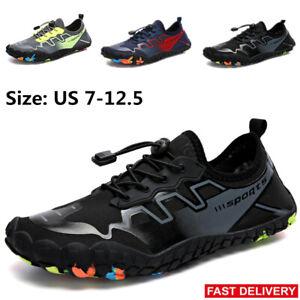 Mens-Water-Shoes-Barefoot-Skin-Socks-Quick-Dry-Aqua-Beach-Swim-Diving-Pool-Shoes
