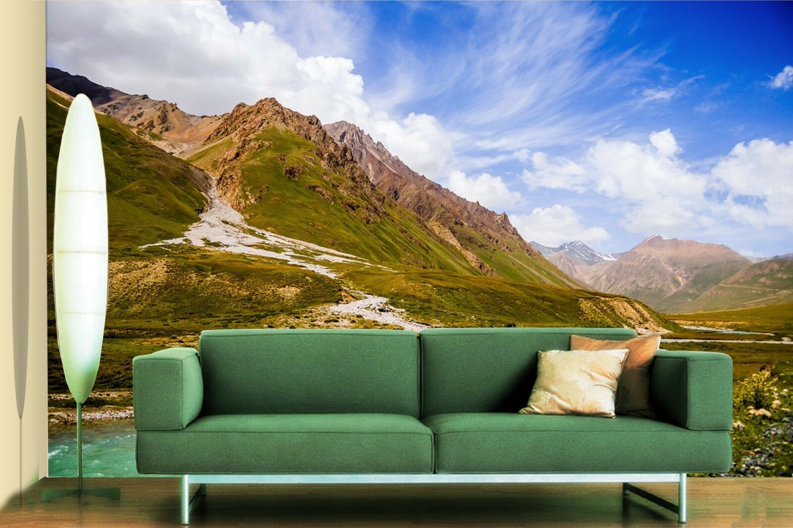 3D Sky Lake Mountain 85 Wallpaper Mural Paper Wall Print Wallpaper Murals UK