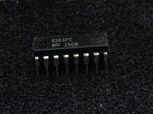 1PCS DECODER//DRIVER//LATCH IC NSC DIP-16 DM9368N