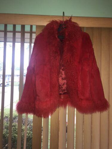 Sheared Rabbit And Mongolian Fur Coat