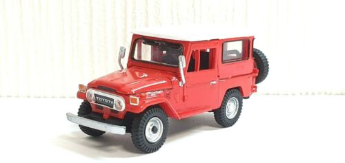 1//64 Platz Koro Koro TOYOTA LAND CRUISER FJ40 RED JEEP 4x4 car model