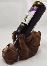 Superb British Bulldog Wine Bottle Holder. Bar/Restaurant Man Cave/Den Guzzlers