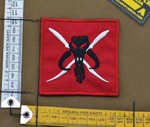 Ricamata-Embroidered-Patch-Devgru-034-Mandalorian-034-with-VELCRO-brand-hook