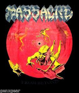 MASSACRE-cd-cvr-FROM-BEYOND-Official-SHIRT-XXL-2X-new