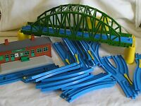 Tomy Thomas the Tank Engine Blue Tomica World Track & Accesories - Your Choice