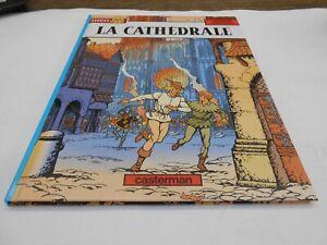 JHEN-TOME-05-LA-CATHEDRALE-E-O-CASTERMAN-DESSIN-DEDICACE-PLEYERS