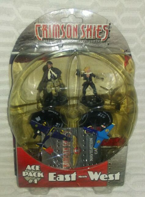 Crimson Skies Ace Pack #1 East Meets West WizKids 2003 Collectors