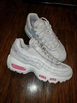 air max 95 pink white