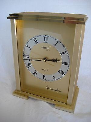 Seiko Quartz Westminster Chime Mantel Clock