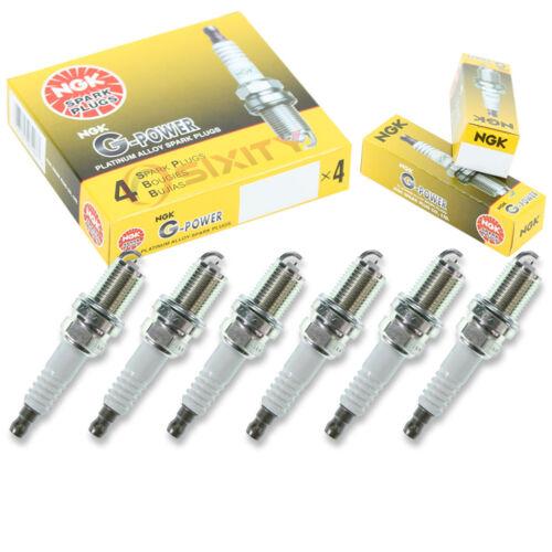 NGK G-POWER PLATINUM SPARK PLUGS FOR 1991-2005 ACURA NSX 3.0L 3.2L C30A C32B V6