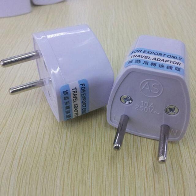 Universal UK/US/AU to EU European Travel Power Adapter Plug converter Amazing