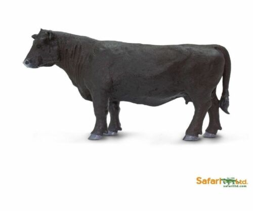 Black Angus 12 cm Series Farmyard Safari Ltd 160829