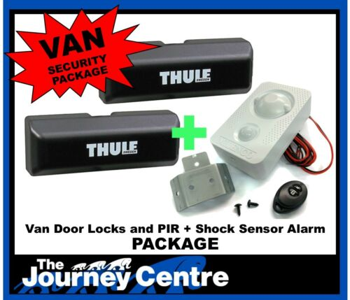 Ford Transit Connect Milenco Thule Security System Van Door Lock Twin Pack Alarm