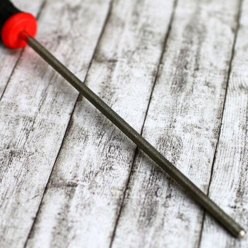 Diamantfeile 4,8mm Ø 3//16 für Sägeketten für Hartmetall /& HSS Rundfeile
